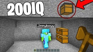 i was catching HACKERS & caught 200IQ xray hacker on my Minecraft server!