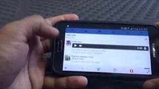 how to download facebook messenger audio