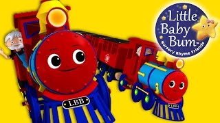 Train Song | Nursery Rhymes | Original Song By LittleBabyBum!
