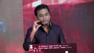 AR Rahman Short Speech At Mom Press Meet