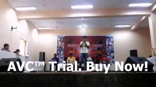 Manas Singh at Sangam Kala group audition