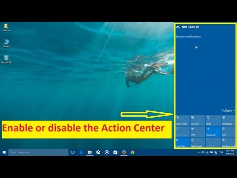Xxx Mp4 How To Disable The Action Center In Windows 10 Howtosolveit 3gp Sex