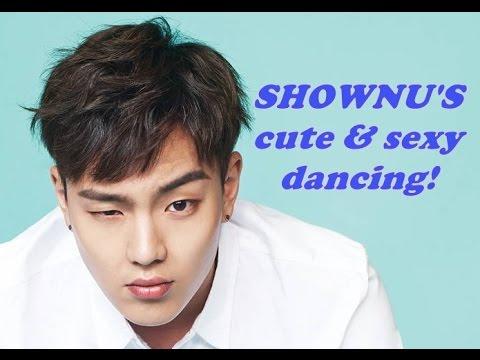 Monsta X Shownu's cute and sexy dancing