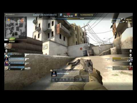 when the fucking girl noobs play cs go and you clutch him hhhhh lol