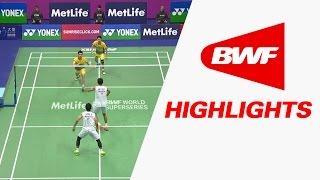 Yonex Sunrise Hong Kong Open 2016 | Badminton QF – Highlights