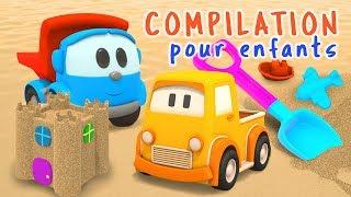 Compilation 1H pour enfants de dessins animés de Léo et voitures