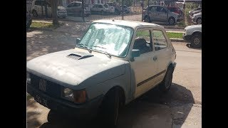 Como Lijar y Enmasillar  Abolladuras Fiat 147 / uno / duna / 128 / siena / fiat 600