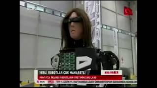 """Ülke TV,  """"Ana Haber"""" programında yayınlanan; AKINROBOTICS resmi açılış haberi"""