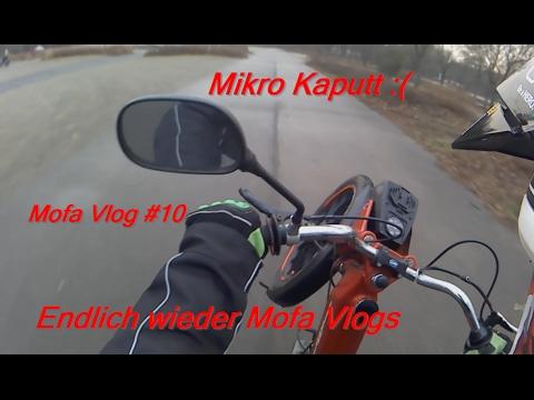 Mofa Sauber + Roller abgezogen XD / MotoFlo/ Mofa Vlog #10