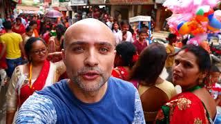 Nepali Women Festival and Monkey Temple in Kathmandu
