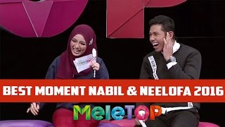 Best of Nabil & Neelofa Moments 2016 - MeleTOP Episod 217 [27.12.2016]
