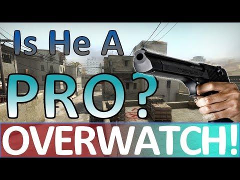 Is He a PRO? CS:GO OVERWATCH!