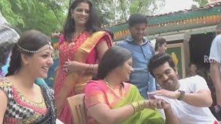 GAV Govindudu Andarivadele - Gulabi Kallu Rendu Song Making - Ram Charan