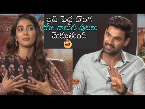 Xxx Mp4 Hero Sai Shocking Comments On Pooja Hegde Saksham Interview Daily Culture 3gp Sex