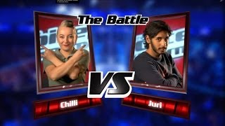 Chilli vs. Juri: Next To Me | The Voice of Germany 2013 | Battle