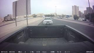 تصوير حادث سيارة في الكويت - كاميرات السيارة  CamKW.com