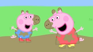 Peppa Pig Episodes | Muddy Puddles! | 2 HOUR SPECIAL | Cartoons for Children