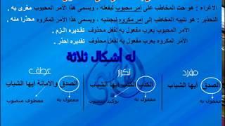 اسلوب الاغراء والتحذير_النحو العربي