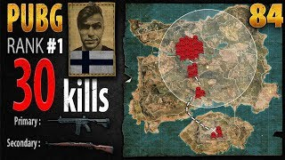 PUBG Rank 1 - AndyPyro 30 kills SQUAD - PLAYERUNKNOWN'S BATTLEGROUNDS #84