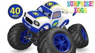 Monster Truck and Car Racing - Kids Games Toys Unboxing Surprise Egg from Jugnu Kids