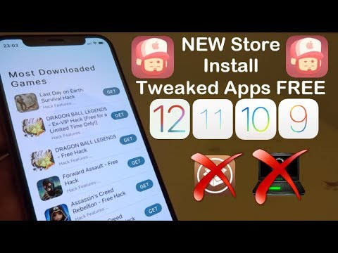 Xxx Mp4 NEW Store Install Tweaked Apps FREE IOS 12 12 3 1 11 NO Jailbreak NO Computer IPhone IPad IPod 3gp Sex