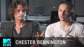 Chester Bennington & Chris Cornell on Working Together | MTV News