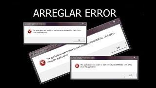 Solución al molesto error (0xc000007b)
