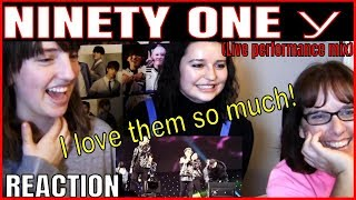 NINETY ONE Y Live Performance Mix Reaction