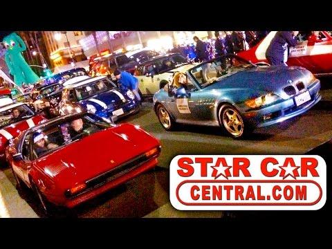 Star Cars Hollywood Christmas Parade 2015 (All 42 Cars! w/DeLorean, Batmobile, 007, KITT, and MORE)