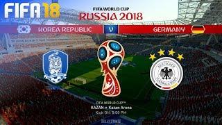FIFA 18 World Cup - South Korea vs. Germany @ Kazan Arena (Group F)