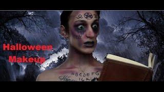 Cadılar Bayramı Makyajı - Ouija Cadısı - /Halloween Makeup - Merkür Can