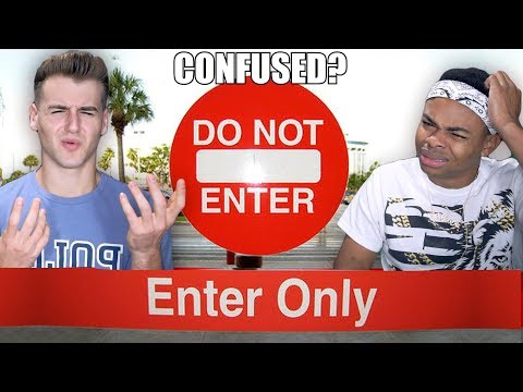 Try Not To Get Confused Challenge Ft. DangMattSmith