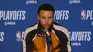 Stephen Curry Postgame Interview - Game 5 | Clippers vs Warriors | 2019 NBA Playoffs