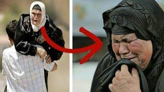 عندما حمل امه و فعل هذا .. أبكى العالم العربي كله .. و سوف تبكي انت الآن | شاهد المفاجئة