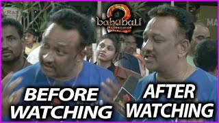 Baahubali 2 Fan Reaction Before And After Watching Movie | Public Talk/Response