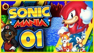 Sonic Mania w/ PKSparkxx! (Knuckles Playthrough) - Part #1 (Green Hill Zone)