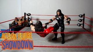 Undertaker vs Kane: WrestleMania 14 - Action Figure Showdown (loserkings007)