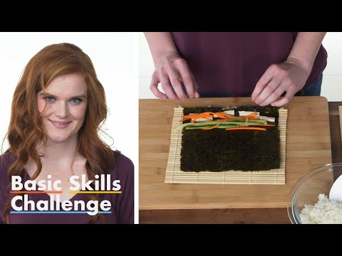 50 People Try to Make Sushi Epicurious