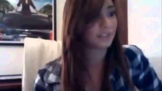 Demi Lovato hablando en Espaol {}