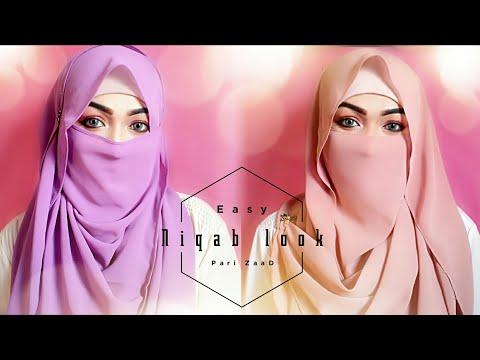Xxx Mp4 Easy Niqab Summer Special Hijab Tutorial Pari ZaaD ❤ 3gp Sex