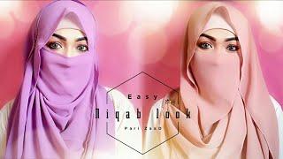 Easy Niqab Summer Special Hijab Tutorial | Pari ZaaD ❤