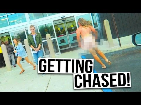 CHASED BY A NAKED MAN!!!