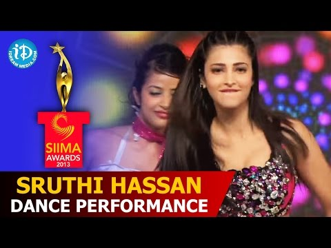 Sruthi Hassan Dance Performance | #SIIMA2013 | Telugu