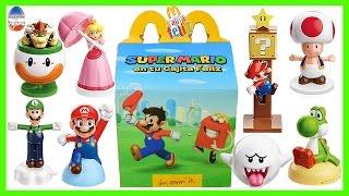 Cajita Feliz Mc Donald's Super Mario Colección Completa 2016-JuguetesYSorpresas