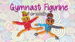 Gymnast Action Figurine/Figurine Rainbow Loom Tutorial