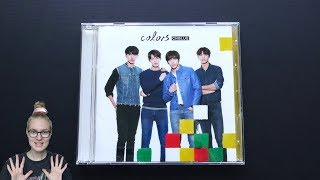 Unboxing CNBLUE 6th Japanese Studio Album Colors [Limited Type A Edition]