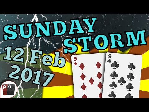[12 February 2017] PokerStars Sunday Storm Final Table Replay (Cards-Up) | Series Player