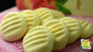 Custard Cookies - In Telugu