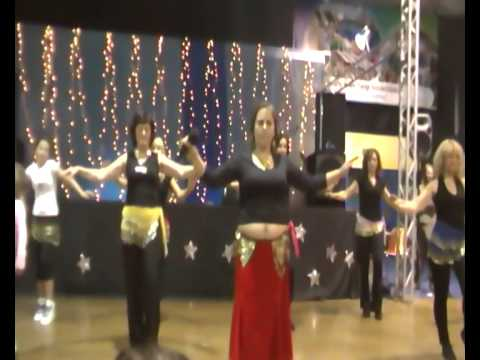 Targi 2010 nauka tańca brzucha