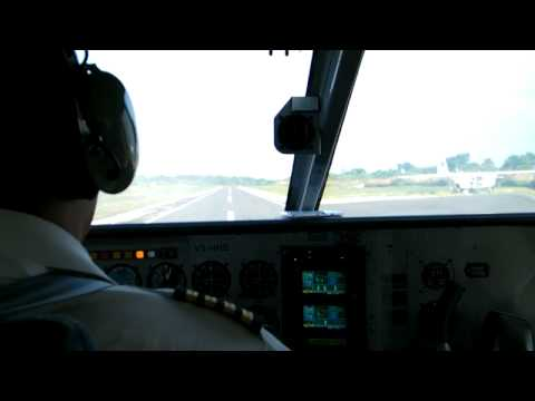 Flying in Belize from Corozal to San Pedro Part 1